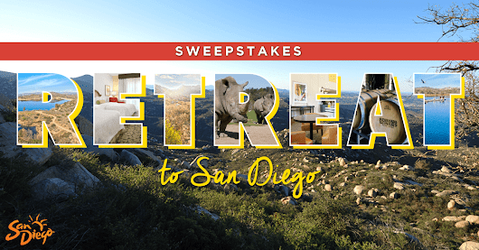 Enter the Retreat to San Diego Sweepstakes!