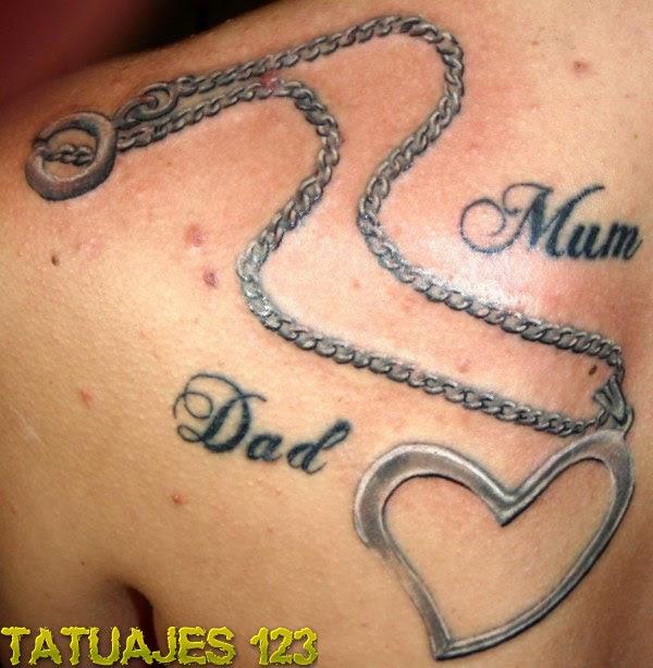 Padre Y Madre Tatuajes 123
