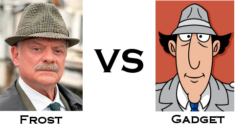 TV Detective World Series Round One - Frost vs Gadget