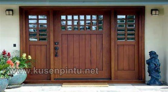 Gerbang Pintu Rumah Minimalis  Kusen Pintu Jendela