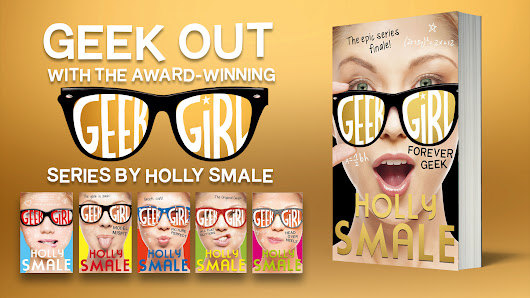 Win a signed copy of the new Geek Girl book - Forever Geek