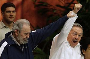 Comandante Fidel Castro Ruz and President Raul Castro Ruz at the Communist Party of Cuba Congress held in April 2011. The revolutionary brothers have contributed decades of struggle on behalf of the humanity. by Pan-African News Wire File Photos