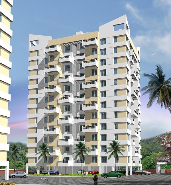 Om Developers' Golden Palms Wakad Pune - Elevation