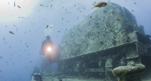 The Best Wreck Diving in the Middle East