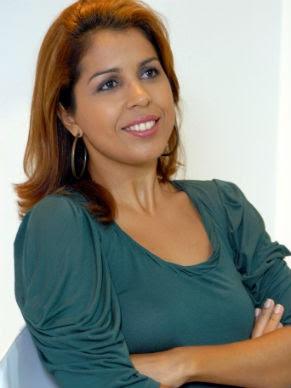 Jornalista Carla Georgina