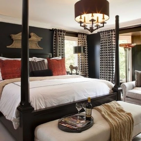 Coloration That Work Properly In Combination With Black Furnishings