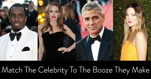 QUIZ: Match The Celebrity To The Booze They Make | VinePair