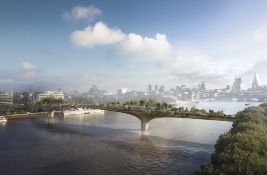 Garden Bridge Gains Final Approval From Mayor of London
