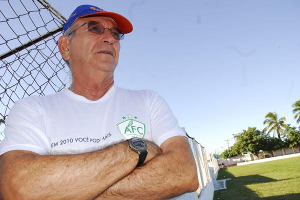 Ferdinando Teixeira foi campeão pelos três grandes clubes de Natal: ABC, América e o Alecrim