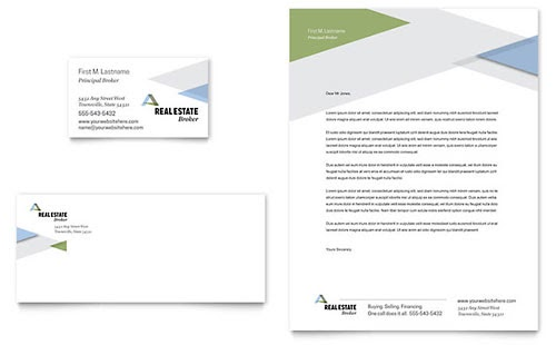 39 business card and letterhead template