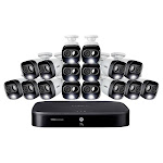 Lorex 16-Channel 1080p 2TB DVR Security System with 16 1080p Active Deterrence Cameras 1369017