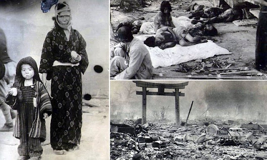 Rare photographs show the nightmare aftermath of Hiroshima