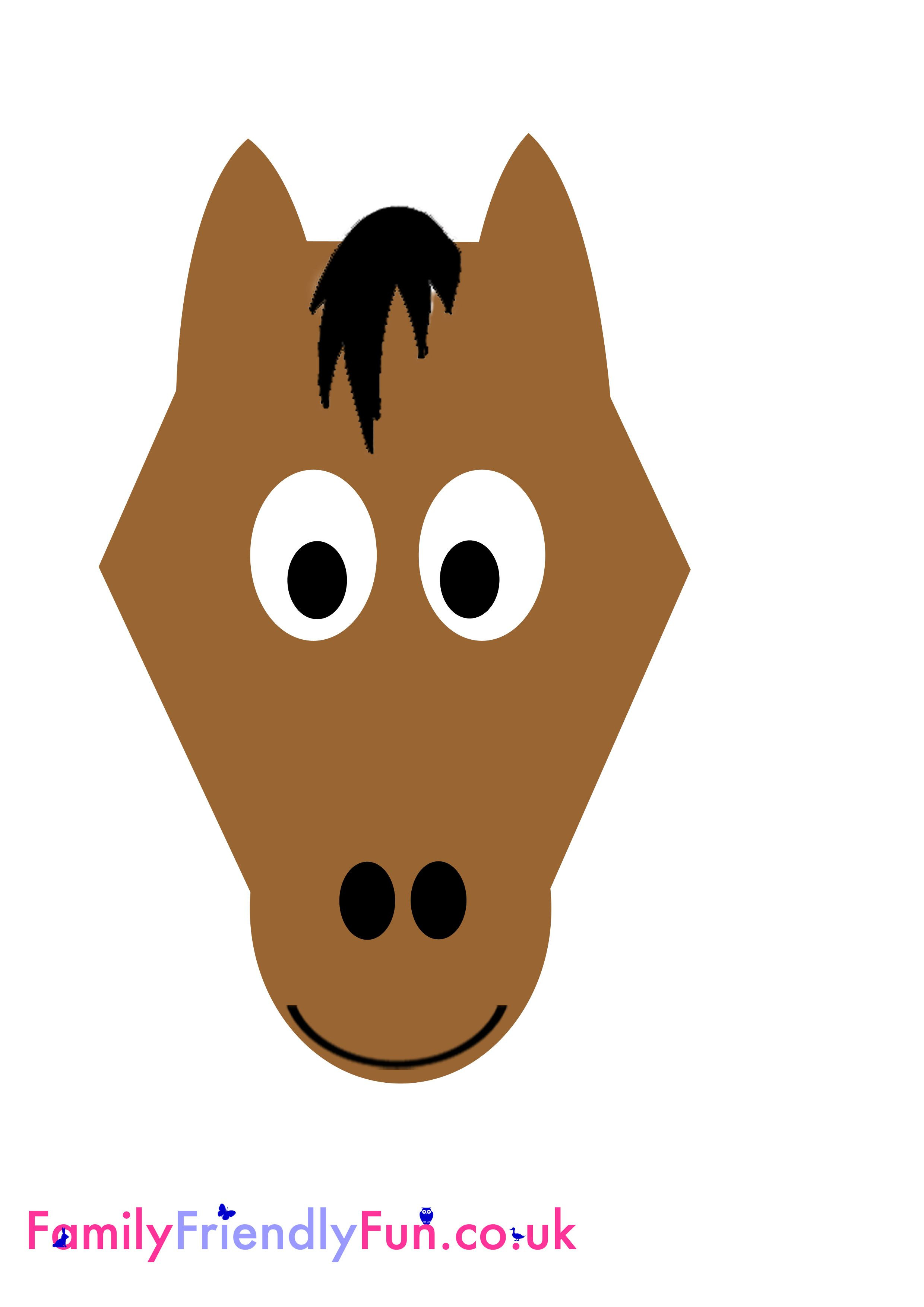 how to make a horse out of paper - Google Search | Farm theme ...