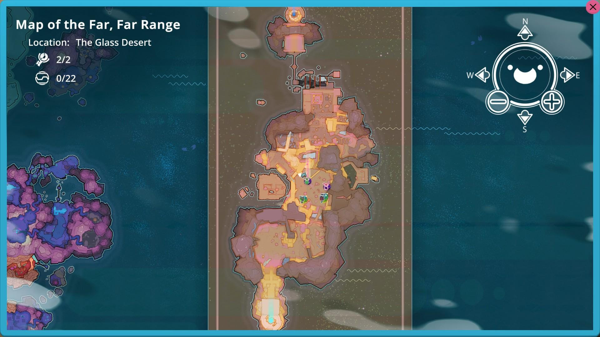 How To Get To The Glass Desert In Slime Rancher - minimalist