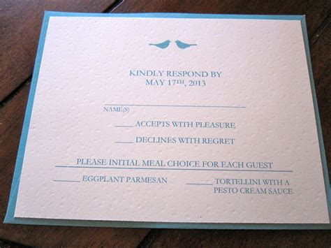 event invitation : Wedding Invitations Reply Cards   Card