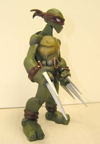 Raphael iv //..sculpt by Nate based on concept by Jason Bischoff of Squid Kids ink. (( 2004 ?! ))