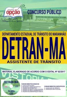 Concurso DETRAN MA 2018-ASSISTENTE DE TRÂNSITO