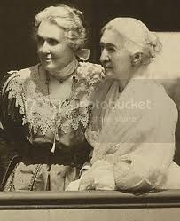 suffragist and feminist Elizabeth Smith Miller with her daughter Anne Fitzhugh Miller
