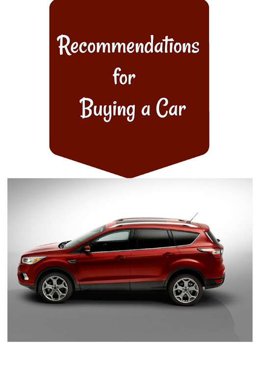 Recommendations for Buying a Car | Imperfect Women