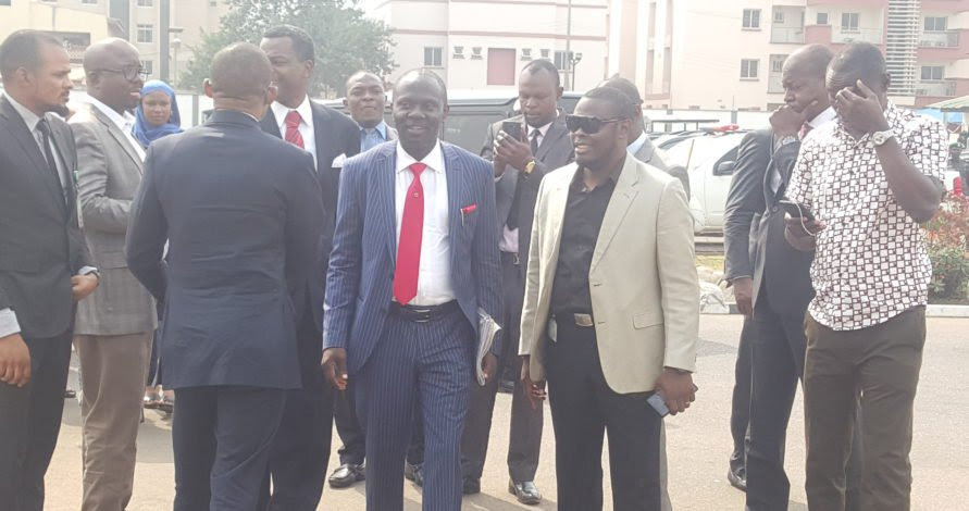 Image result for Afegbua arrives Force headquarters, says he is not under arrest