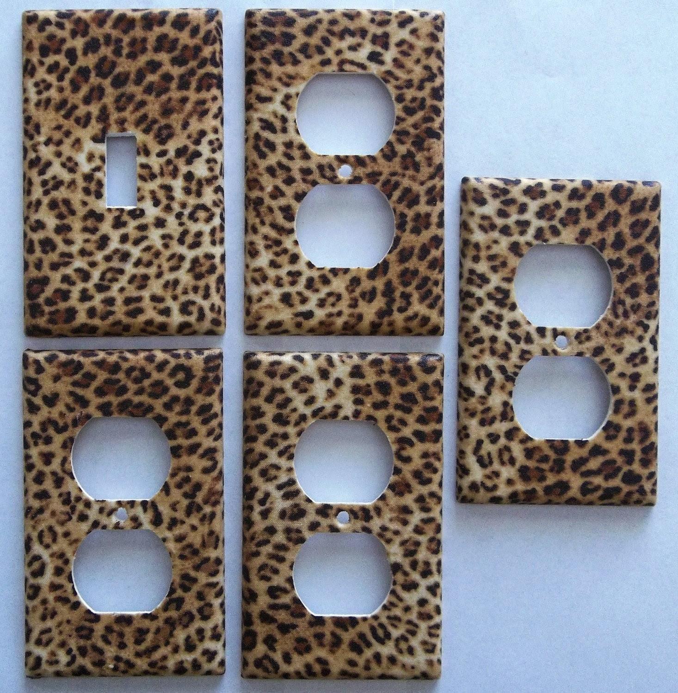 Leopard Animal Print S Por Items For Decor Bedroom On Etsy