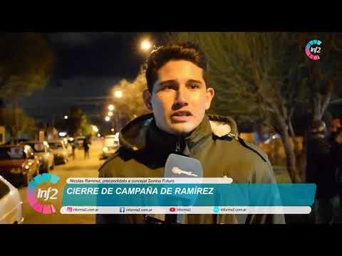 Cierre de Campaña Nicolas Ramirez