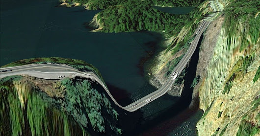 12 of the most dangerous roads in the world. Would you drive these?