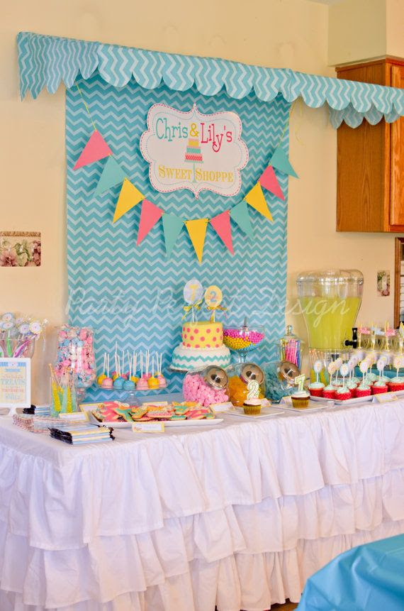Sweet Shop Candy Shop Birthday Party Printables on etsy