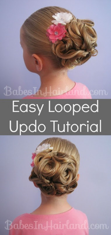 Easty Looped Updo from BabesInHairland.com (1)