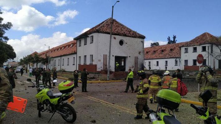 Resultado de imagen para Colombia: Nueve muertos tras atentado con coche bomba