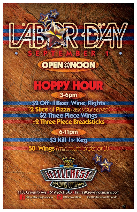 Enjoy Labor Day with Craft Beer