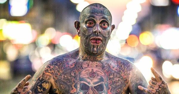 Conoce Al Hombre Que Tiene El 90 De Su Cuerpo Tatuado Por Una Razón