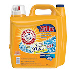 Arm & Hammer Plus OxiClean Max HE Liquid Laundry Detergent, Fresh Scent, 160 loads, 250 fl oz