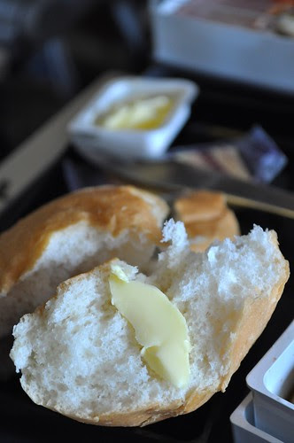 roll with butter