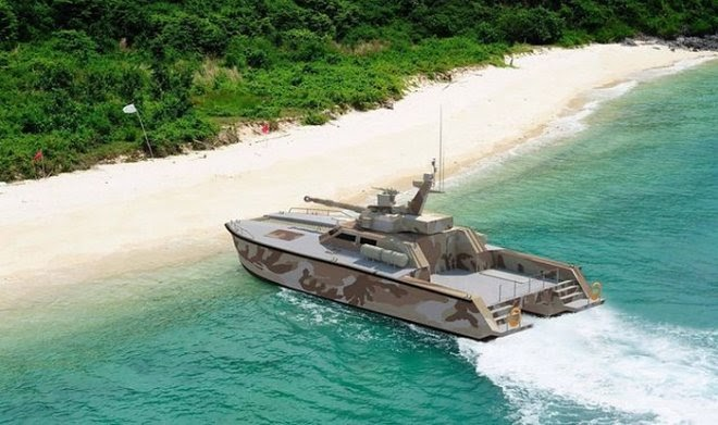 Индонезийские ВМС разработали судно Antasena – катер с возможностями танка