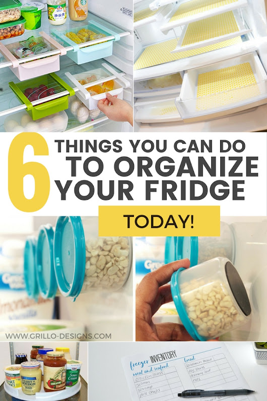 6 Fridge Organization Tips You Can Do Today