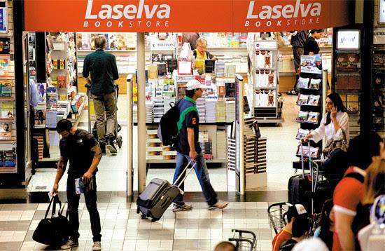 Livraria Laselva no aeroporto de Congonhas (SP), que não consta em registro da Infraero