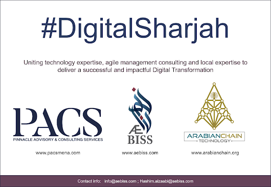 Contributing to the Sharjah Digital Transformation initiative - AEBISS
