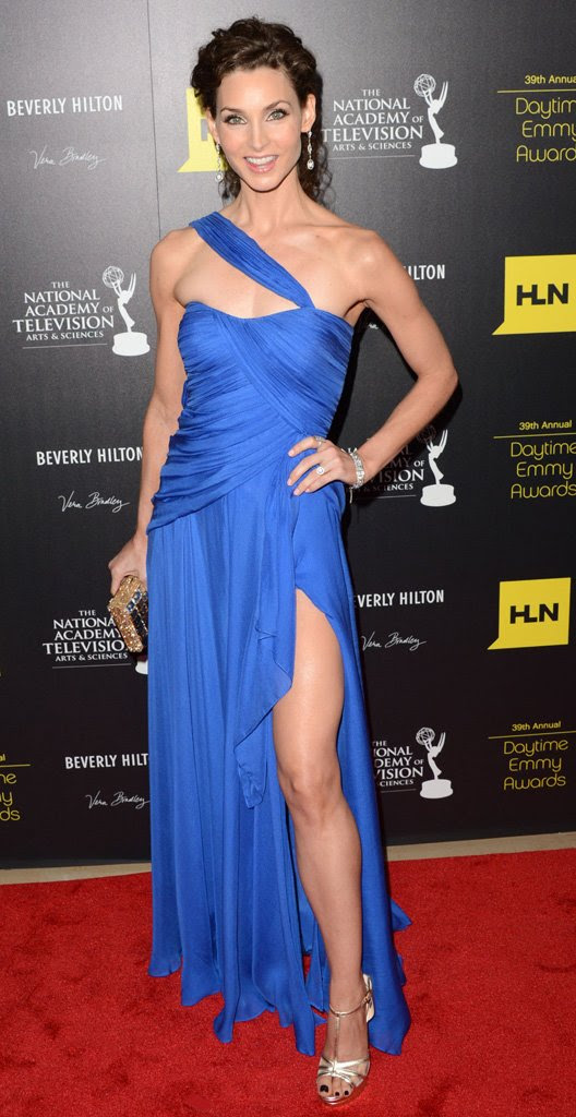 Alicia Minshew at the 2012 Daytime Emmy Awards