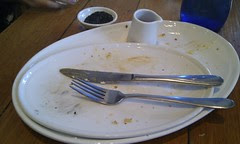 Empty plates - Demitri's Feast