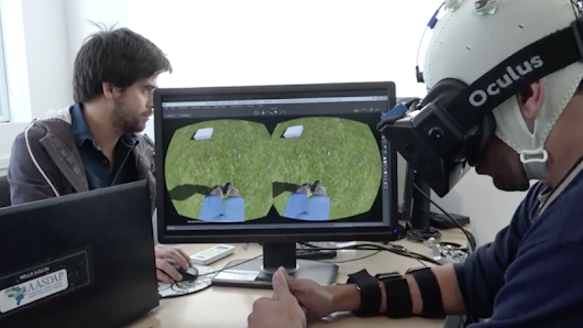Paralyzed Patients Learn to Walk Again Using Virtual Reality
