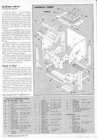 Access Blast cabinet plans