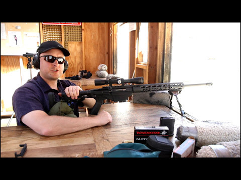 Shooting The Ruger Precision Rifle Gen 2