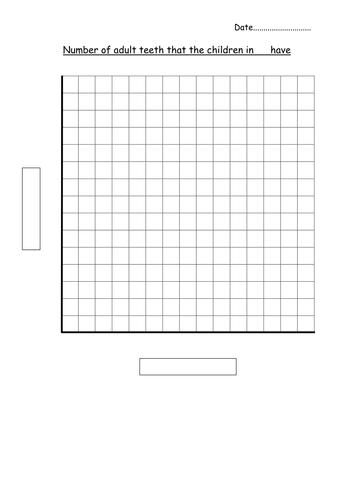 Blank bar graph template - adult teeth by hannahw2 - Teaching ...