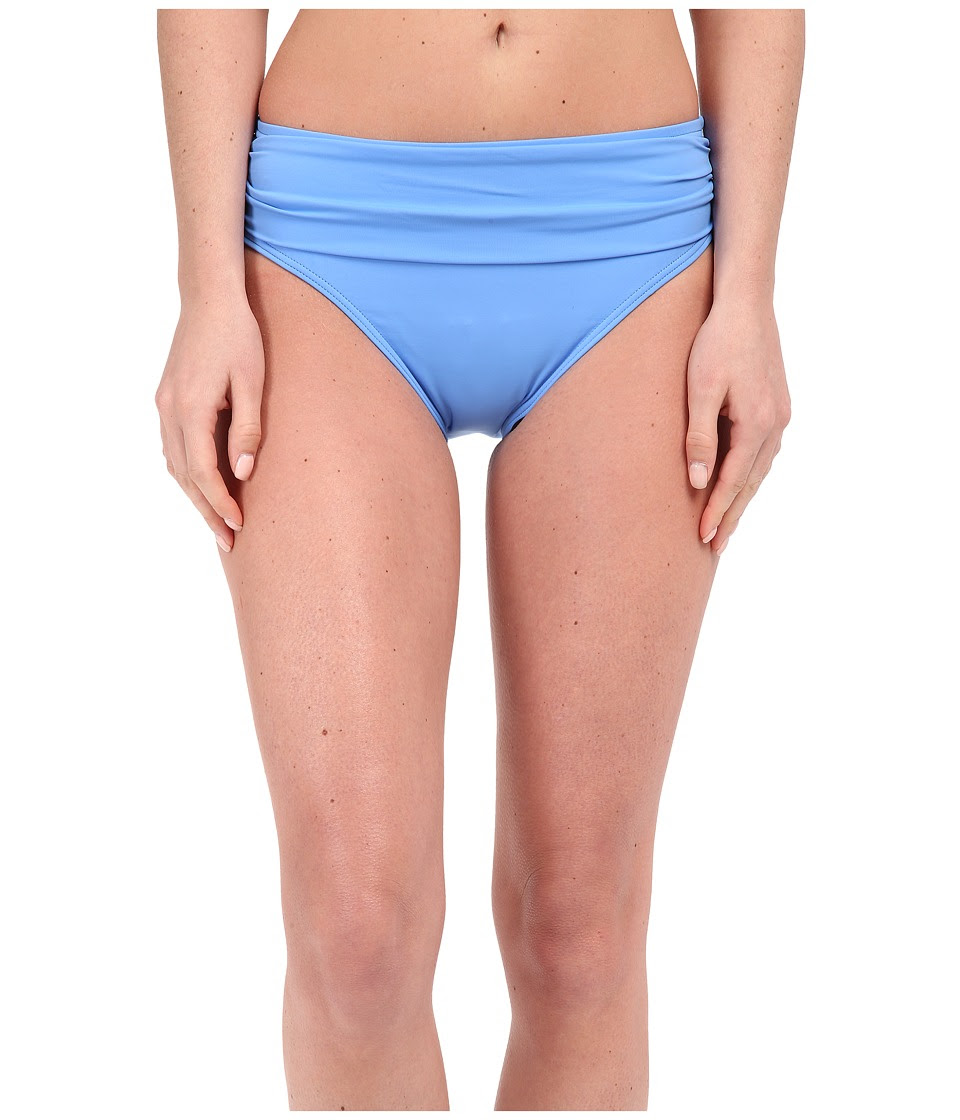 Tommy Bahama - Pearl Solids High Waist Sash Pants (Blue Zaffiro) Women's Swimwear
