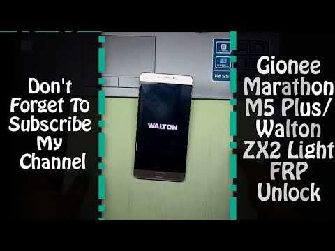 Gionee Marathon M5 Plus And Walton ZX2 Light FRP Reset