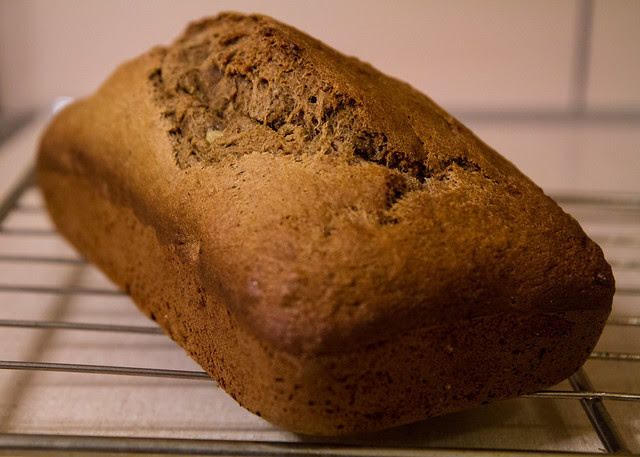 Oatmeal-Stout Wheat Banana Bread
