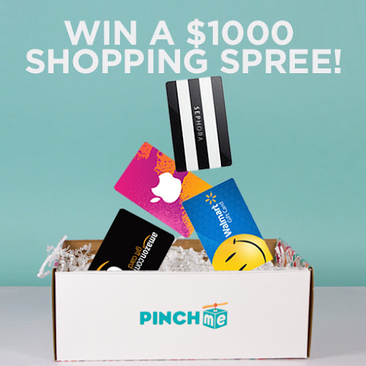 PINCHme Holiday Shopping Spree Giveaway