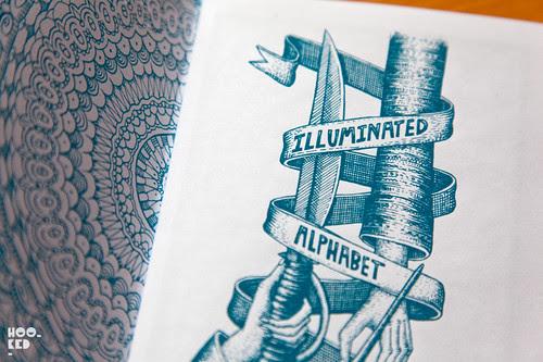 Sheffield based street artist Phlegm has released his Illuminated Alphabet Zine.