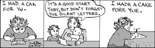 Home Spun comic strip #278